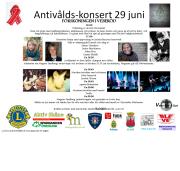 SofieStenervikAntivålds-konsert